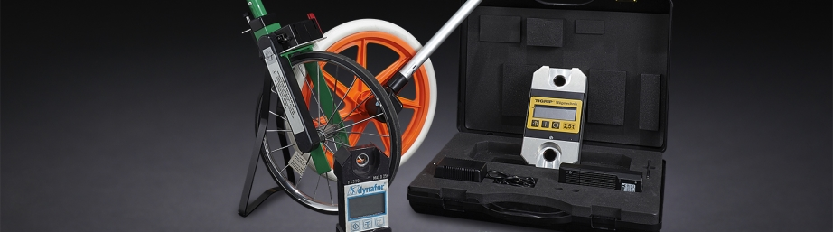 Distance measuring tools - Measuring wheel - Topometer