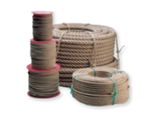 Unpolished hemp rope - Gattegno