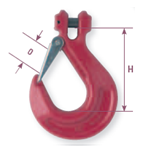 Clevis hooks adapted for chains - Gattegno