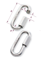 Stainless steel quick link - Gattegno