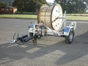 Trailer Gatt 1000 - Cable drums