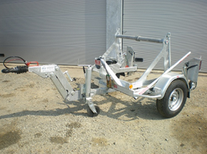 Model GATT 1000 - Cable drum trailer