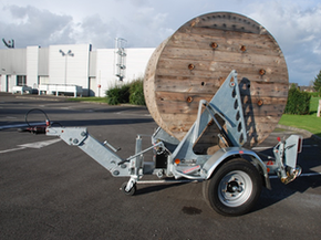 Model Gatt 1600 - Cable drum trailer