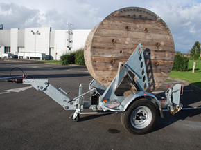 Model Gatt 2000 - Cable drum trailer