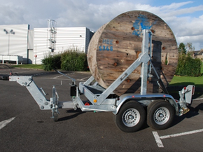 Model Gatt 2500 - Cable drum trailer