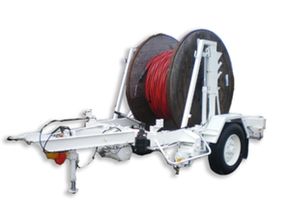 Model 7000 - Cable drum trailer