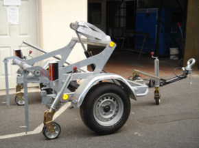 Model GATT 750 - Cable drum trailer