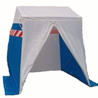 Square tent - Work tents Gattegno
